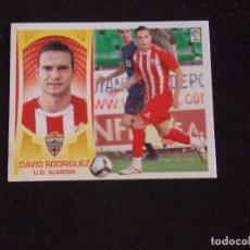 Cromos de Fútbol: COLOCA 16B DAVID RODRIGUEZ, ALMERIA, LIGA ESTE 09-10 (2009-2010). Lote 131106104