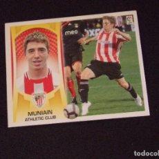 Cromos de Fútbol: COLOCA 15B MUNIAIN, ATHLETIC BILBAO, LIGA ESTE 09-10 (2009-2010). Lote 131106188