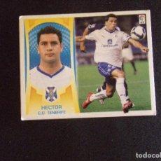Cromos de Fútbol: COLOCA 6B HECTOR, TENERIFE, LIGA ESTE 09-10 (2009-2010). Lote 131107200