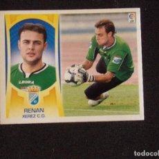 Cromos de Fútbol: COLOCA 2B RENAN, XEREZ, LIGA ESTE 09-10 (2009-2010). Lote 131107656