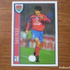 Cromos de Fútbol: MUNDICROMO FICHAS LIGA 2001 Nº 323 MUÑIZ (NUMANCIA) - FUTBOL CROMO 2000 01 . Lote 131172124