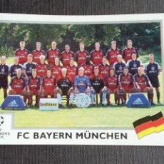 Cromos de Fútbol: CHAMPIONS LEAGUE 1999 2000 - PANINI - 222 PLANTILLA - FC BAYERN MÜNCHEN 99 00 ( NUNCA PEGADO ). Lote 214001407