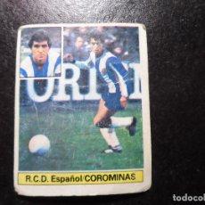 Cromos de Fútbol: COROMINAS ESPAÑOL ULTIMOS FICHAJES FICHAJE 5 ALBUM ESTE LIGA 1981 - 1982 ( 81 - 82 ) . Lote 131273919