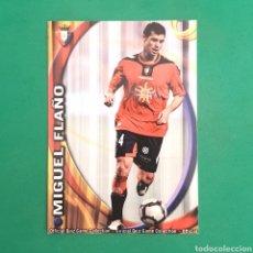 Cartes à collectionner de Football: (C-PK.01) MUNDICROMO LIGA 2010-2011 - (OSASUNA) N°306 MIGUEL FLAÑO. Lote 131349770