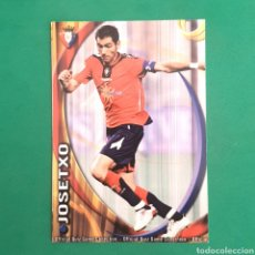 Cartes à collectionner de Football: (C-PK.01) MUNDICROMO LIGA 2010-2011 - (OSASUNA) N°304 JOSETXO. Lote 131349839