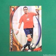 Cartes à collectionner de Football: (C-PK.01) MUNDICROMO LIGA 2010-2011 - (OSASUNA) N°317 PANDIANI. Lote 131350018