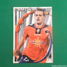 Cartes à collectionner de Football: (C-PK.01) MUNDICROMO LIGA 2010-2011 - (OSASUNA) N°321 CAMUÑAS. Lote 131350157