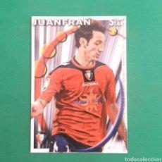 Cartes à collectionner de Football: (C-PK.01) MUNDICROMO LIGA 2010-2011 - (OSASUNA) N°320 JUANFRAN. Lote 131350445