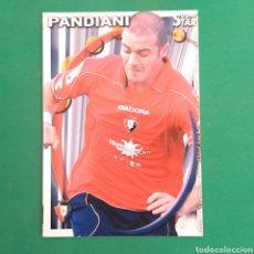 Cartes à collectionner de Football: (C-PK.01) MUNDICROMO LIGA 2010-2011 - (OSASUNA) N°324 PANDIANI. Lote 131350497