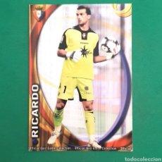Cartes à collectionner de Football: (C-PK.01) MUNDICROMO LIGA 2010-2011 - (OSASUNA) N°302 RICARDO. Lote 131350827