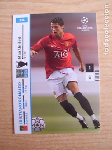 236 Cristiano Ronaldo Manchester United Panini Sold Through Direct Sale 131384778