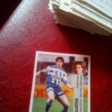 Figurine di Calcio: MARTINS DEPORTIVO ED PANINI LIGA CROMO 96 97 FUTBOL 1996 1997 - SIN PEGAR - 354 FICHAJE. Lote 131733838
