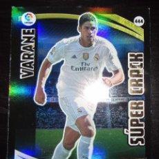 Cartes à collectionner de Football: ADRENALYN XL PANINI 2015-16 SUPER CRACK VARANE 444 REAL MADRID. Lote 223881682