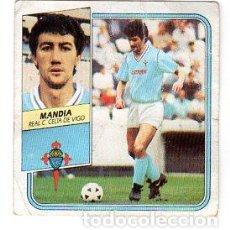 Cromos de Fútbol: LIGA 89/90. ULTIMOS FICHAJES. Nº 20. MANDIA. REAL C. CELTA DE VIGO. EDICIONES ESTE. DESPEGADO.. Lote 131770834