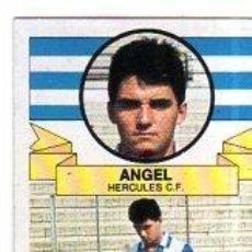 Cromos de Fútbol: LIGA 85/86. COLOCA. ANGEL. HERCULES C. F. EDICIONES ESTE. DESPEGADO.. Lote 131771458