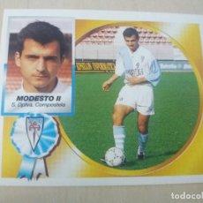 Cromos de Fútbol: EDICIONES ESTE 94 95 BAJA MODESTO II COMPOSTELA CROMO NUEVO SIN PEGAR. Lote 131910234