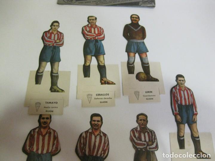 Cromos de Fútbol: 7 CROMOS TROQUELADOS JUGADOR FUTBOL gijon AS BRUGUERA AÑOS 40 CROMO ceballos - Foto 5 - 131982394
