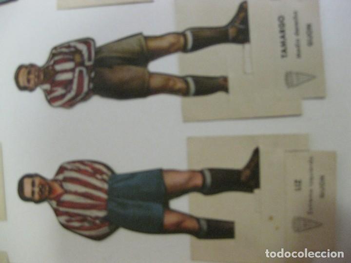 Cromos de Fútbol: 7 CROMOS TROQUELADOS JUGADOR FUTBOL gijon AS BRUGUERA AÑOS 40 CROMO ceballos - Foto 6 - 131982394