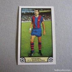 Cromos de Fútbol: EDICIONES ESTE. LIGA 79-80. KRANKL-F.C. BARCELONA.. Lote 131997730