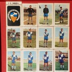 Cromos de Fútbol: FHER 1970-1971 SABADELL 16 CROMOS EQUIPO COMPLETO.. Lote 132069733