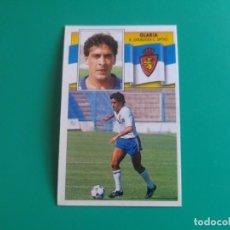 Cromos de Fútbol: GLARIA - ZARAGOZA - CROMO EDICIONES ESTE 1990-91 - 90/91 (DESPEGADO). Lote 132077390