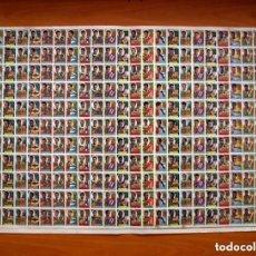 Cromos de Fútbol: LÁMINA DE FÚTBOL LIGA 1955-1956, 55-56 - CON 242 CROMOS - VER FOTOS. Lote 132129886