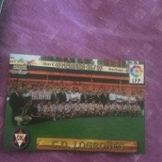 Cromos de Fútbol: MUNDICROMO 96 97 1996 1997 FICHAS 361 ALINEACION . LOGROÑES. Lote 132139395