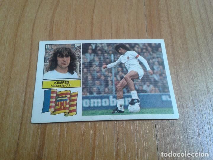 KEMPES -- VALENCIA -- FICHAJE Nº 10 -- 82/83 -- ESTE -- RECUPERADO (Coleccionismo Deportivo - Álbumes y Cromos de Deportes - Cromos de Fútbol)