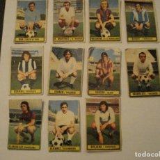 Cromos de Fútbol: LIGA ESTE 74-75 LOTE DE 11 FICHAJES. Lote 132249486