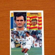 Cromos de Fútbol: VALENCIA - FERNANDO - EDICIONES ESTE 1990-1991, 90-91 - NUNCA PEGADO. Lote 132274694
