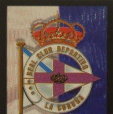 Cromos de Fútbol: 91 ESCUDO - DEPORTIVO DE LA CORUÑA - MUNDICROMO MC - FICHAS LIGA 1999 2000 99 00. Lote 132335550