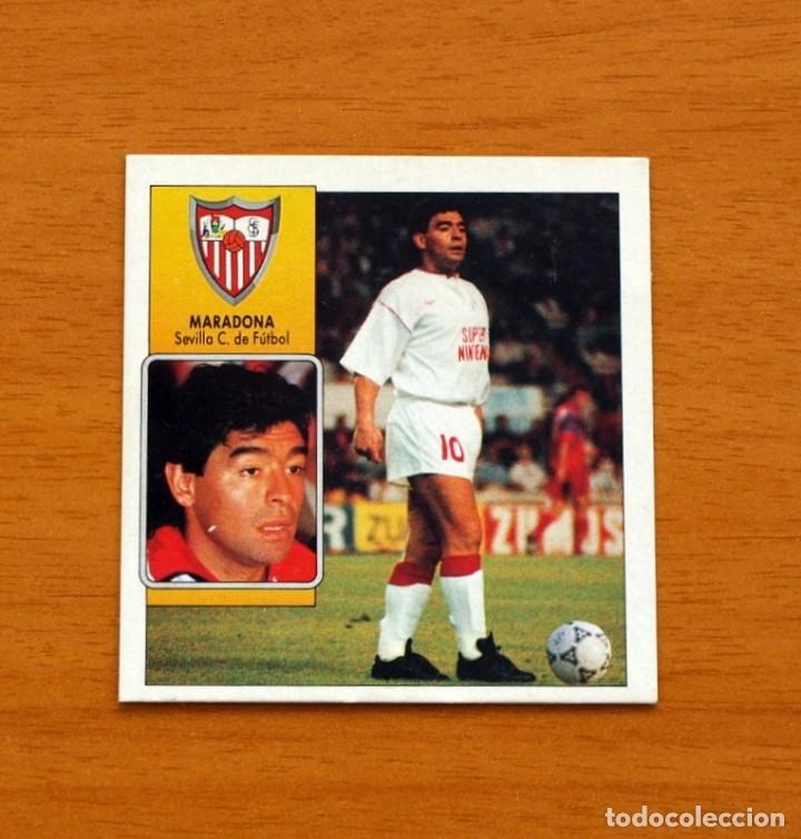 SEVILLA - MARADONA - COLOCA - EDICIONES ESTE - LIGA 1992-1993, 92-93 - NUNCA PEGADO (Coleccionismo Deportivo - Álbumes y Cromos de Deportes - Cromos de Fútbol)