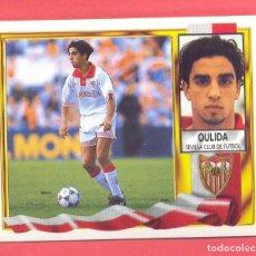 Cromos de Fútbol: LIGA 95-96 ESTE COLOCA OULIDA (SEVILLA) VERSION DIFICIL, NUEVO, NUNCA PEGADO, VER FOTOS. Lote 132431198
