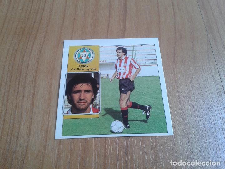 ANTÓN -- LOGROÑÉS -- COLOCA -- 92/93 -- ESTE -- RECUPERADO (Coleccionismo Deportivo - Álbumes y Cromos de Deportes - Cromos de Fútbol)