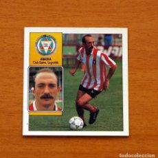 Cromos de Fútbol: LOGROÑÉS - ABADIA - EDICIONES ESTE - LIGA 1992-1993, 92-93. Lote 132568790