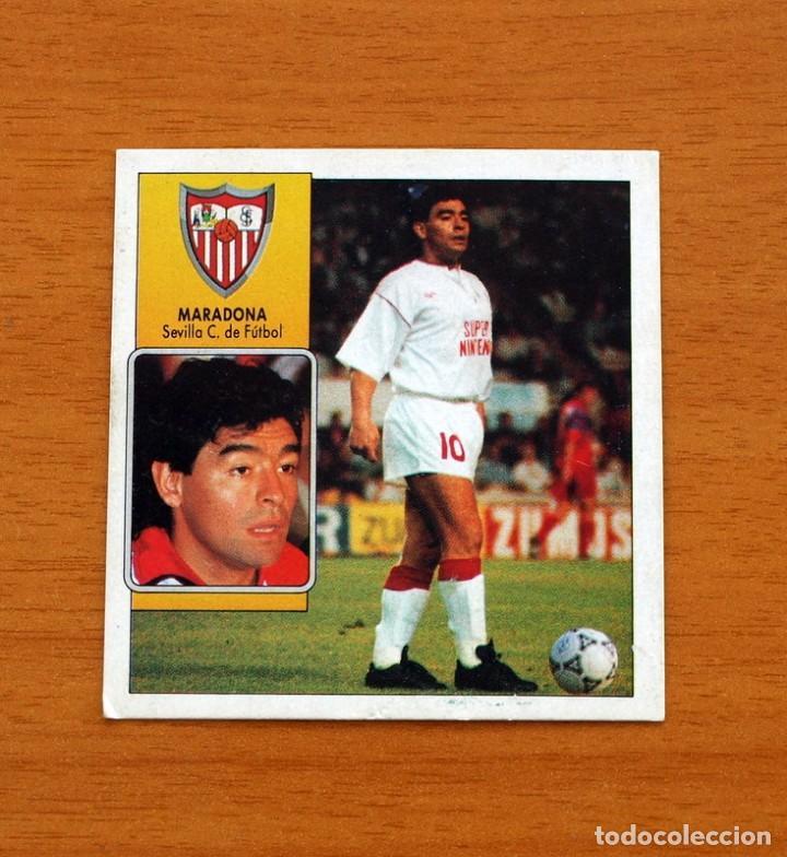 SEVILLA - MARADONA - COLOCA - EDICIONES ESTE - LIGA 1992-1993, 92-93 (Coleccionismo Deportivo - Álbumes y Cromos de Deportes - Cromos de Fútbol)