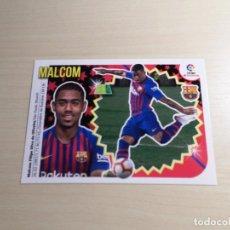 Cromos de Fútbol: LIGA ESTE 2018 2019 18 19 PANINI. MALCOM Nº 17 FICHAJES (FC BARCELONA) CROMO FÚTBOL 3ª EDICIÓN. Lote 143113372