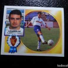 Cromos de Futebol: LIZARRALDE DEL ZARAGOZA ALBUM ESTE LIGA 1994 - 1995 ( 94 - 95 ). Lote 145508252
