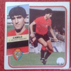 Cromos de Fútbol: CROMO DE FÚTBOL TEMPORADA 89 90 1989 1990 ED. ESTE FICHAJES Nº 5 CAMILO OSASUNA NUNCA PEGADO VER FOT. Lote 132825906