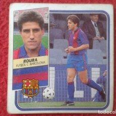 Cromos de Fútbol: CROMO DE FÚTBOL TEMPORADA 89 90 1989 1990 EDICIONES ESTE ROURA BARCELONA NUNCA PEGADO, DIFÍCIL, VER . Lote 132866030