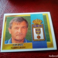 Cromos de Fútbol: IVAN BRZIC OVIEDO ED ESTE LIGA CROMO 95 96 FUTBOL 1995 1996 - SIN PEGAR - 297. Lote 132999202