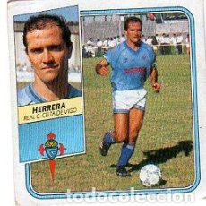 Cromos de Fútbol: LIGA 89/90. HERRERA. REAL CLUB CELTA DE VIGO. EDICIONES ESTE. SIN PEGAR. . Lote 133205246