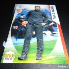Cromos de Fútbol: MGK 454 PABLO MACHIN SEVILLA CROMOS MEGACRACKS LIGA FUTBOL 2018 2019 18 19. Lote 152581749