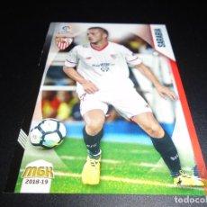 Cromos de Fútbol: MGK 448 SARABIA SEVILLA CROMOS MEGACRACKS LIGA FUTBOL 2018 2019 18 19. Lote 152581734