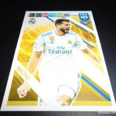Cromos de Fútbol: 74 NACHO REAL MADRID CARD CROMOS ADRENALYN XL FIFA 365 2018 2019 18 19. Lote 137292322