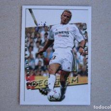 Cromos de Fútbol: FICHAS LIGA 2004 LOS MAS CREATIVOS Nº 683 BECKHAM REAL MADRID 03-04 MUNDICROMO 2003-2004 NUEVO. Lote 277848383