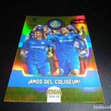 Cromos de Fútbol: MGK 239 TOP 20 JORGE MOLINA GETAFE CROMOS ALBUM MEGACRACKS LIGA FUTBOL 2018 2019 18 19. Lote 133453614