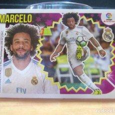Cromos de Fútbol: EDICIONES ESTE 2018-2019 18 19 Nº 7 MARCELO (REAL MADRID) SIN PEGAR. Lote 133466146