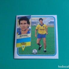 Cromos de Fútbol: MONTERO - CÁDIZ - CROMO EDICIONES ESTE 1989-90 (DESPEGADO) - 89/90. Lote 133617030