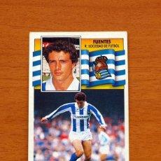 Cromos de Fútbol - Real Sociedad - Fuentes - Liga 1990-1991, 90-91 - Ediciones Este - 133622602